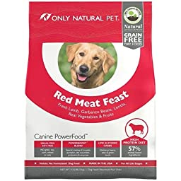 Only Natural Pet Canine PowerFood Red Meat Feast 4.5lb