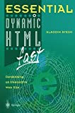 img - for Essential Dynamic HTML fast (Essential Series) by Aladdin Ayesh (2000-06-15) book / textbook / text book