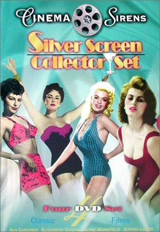 Cover art for  Cinema Sirens - Silver Screen Set (The Snows of Kilimanjaro/The Fat Spy/Two Women/The Last Time I Saw Paris)