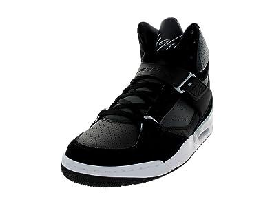 e4edf106343a71 Mens Air Jordan Flight Team White Grey shoes