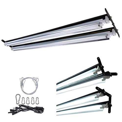 2Ft/4Ft T5 Ho Hydroponic Fluorescent Lamp Grow Light Kit 6500K