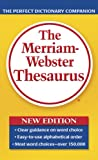 The Merriam-webster Thesaurus (0877798508) by Not Available (NA)