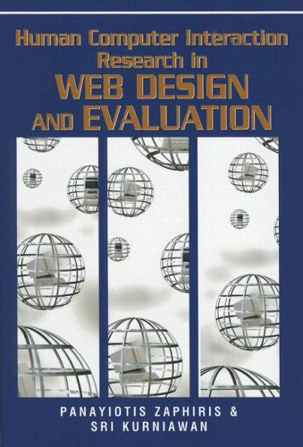 Human Computer Interaction Research in Web Design and Evaluation