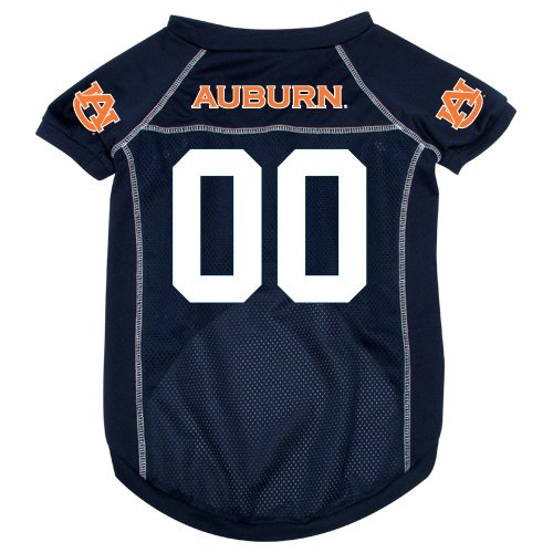 NCAA Auburn Tigers Pet Jersey, Blue, Medium at Amazon.com