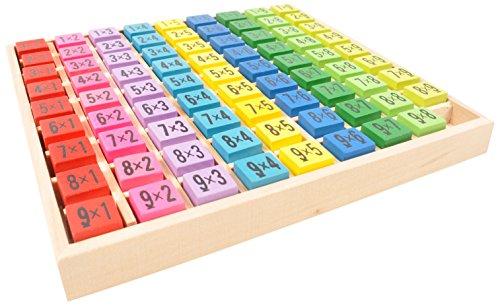 Calcul et math matiques ulysse couleurs d 39 enfance 3760111707676 moins cher en ligne wikijouets - Table de multiplication jeu ...