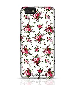 Stylebaby Seamless Pattern Roses And Freesia Blackberry Z10 Phone Case