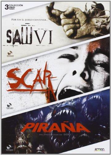 Pack: Saw Vi + Scar + Pira (Dvd Import) (European Format - Region 2) (2013) Tobin Bell; Angela Bettis; El