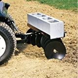 Brinly-DD-55BH-Sleeve-Hitch-Adjustable-Tow-Behind-Disc-Harrow-39-by-40-Inch