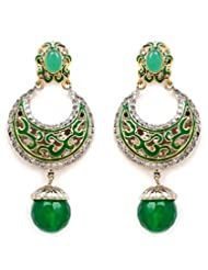Akshim Multicolour Alloy Earrings For Women - B00NPY8DWK