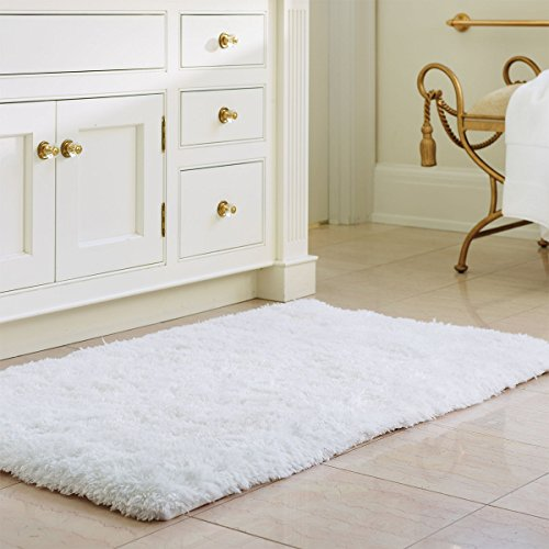 norcho-soft-microfiber-non-slip-antibacterial-rubber-luxury-bath-mat-rug-27-x18-white