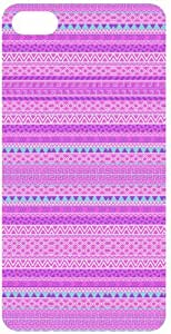 Pink Tribal Pattern Pink Flip Case for Apple iPhone 5C