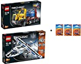 Lego Technic Set 42024, 42025 + free Batteries