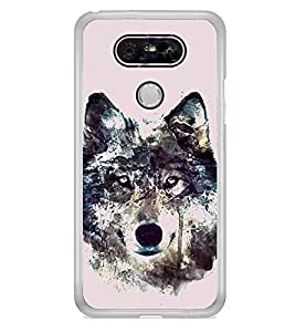 Fox 2D Hard Polycarbonate Designer Back Case Cover for LG G5 :: LG G5 Dual H860N :: LG G5 Speed H858 H850 VS987 H820 LS992 H830 US992