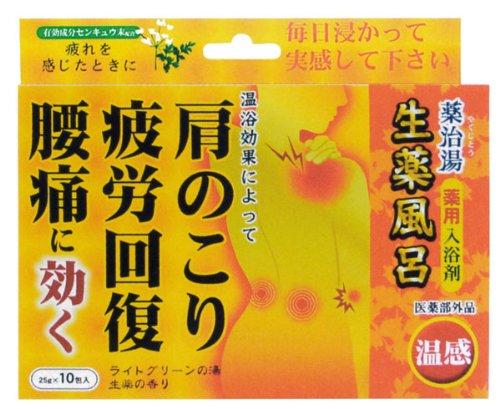 ヘルス 薬治湯 生薬風呂 温感 10包