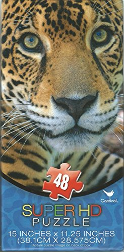 Super HD 48-piece LEOPARD Jigsaw Puzzle