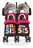 Cosatto You 2 Twin Stroller (Big and Little Sis)