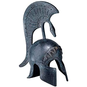 Greek Ironwork Spartan Helmet