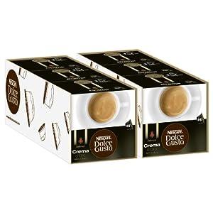 Nescafé Dolce Gusto Dallmayr Crema d´Oro, Pack of 6, 6 x 16 Capsules