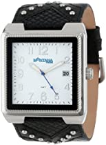 Montana Time Unisex MT923 Classic Analog Large Square Studs Watch