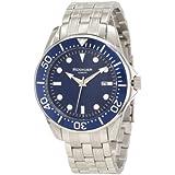 Rudiger Men's R2000-04-003 Chemnitz Blue IP Luminous Watch