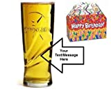20oz Strongbow Glass with FREE Engraving up to 30 Letters in Happy Birthday Gift Box