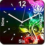 2 O Clock Decorative Printed Analog Wall Clock
