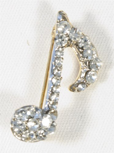 brooch-single-quaver-clear-crystals-silver-finish
