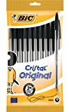 Image of Bic Cristal Medium Ball Pen - Black (Pack of 10)