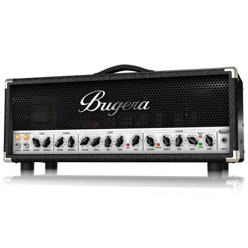 Bugera 6262-Infinium Ultimate Rock Tone 120-Watt 2-Channel Valve Amplifier Head With Reverb And Infinium Valve Life Multiplier