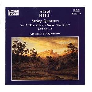 HILL: String Quartets Nos. 5, 6 and 11