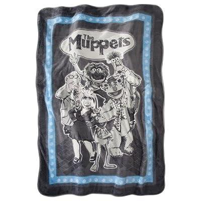 Disney's The Muppets Micro Raschel Plush Blanket