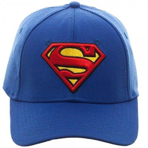 DC Comics Superman Logo Flex Fit Hat (Superman Caps compare prices)