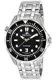 Rotary Men's Aquaspeed Black Dial Watch- AGB00068/W/04