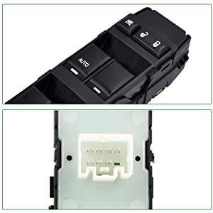 Single AUTO Down 4602780AA Driver Side Power Window Switch for Dodge Charger Magnum Caliber Avenger Dokota Ram Chrysler 200 300 Sebring Mitsubishi Raider Jeep Compass Patriot