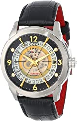 CCCP Men's CP-7001-02 Sputnik 1 Limited Edition Analog Display Automatic Self Wind Black Watch