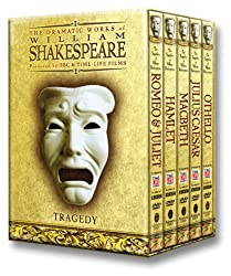 BBC Shakespeare Tragedies DVD Giftbox