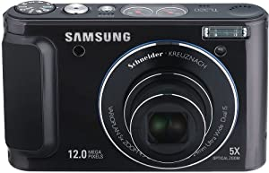 Samsung TL320 12.2MP Digital Camera with 5x Schneider Wide Angle Dual Image Stabilized Zoom and 3.0 inch OLED Screen (Black)