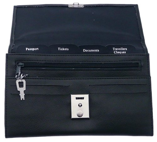 Soft Navy Colour Travel Document Case (Passport, Tickets, Travellers Cheques, Insurance, Money Holder etc)