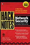 HackNotes(tm) Network Security Portable Reference (0072227834) by Michael Horton