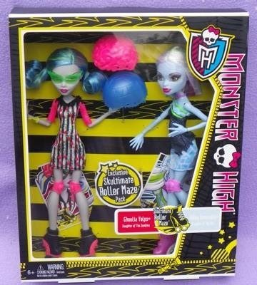 51YF1LrN6hL Reviews Monster High Skultimate Roller Maze Abbey Bominable & Ghoulia Yelps
