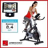 Sportstech Profi Indoor Cycle SX200 mit Smartphone App...