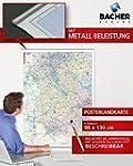 Postleitzahlenkarte Rheinland-Pfalz /...