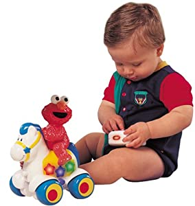Sesame Street Elmo Crib Toy : 3 Modes of Play
