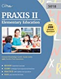 img - for Praxis II Elementary Education Content Knowledge (5018): Study Guide with Practice Test Questions book / textbook / text book