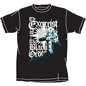 D.Gray-man エクソシストのアレン Tシャツ ブラック : サイズ XL