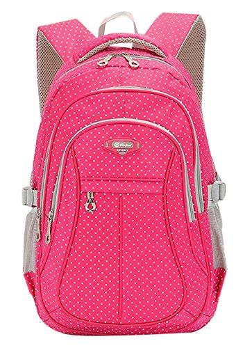 sellerfunr-kid-child-girl-multipurpose-dot-backpack-school-bagroselarge