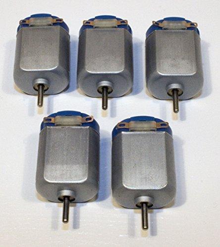 1.5V To 3V Dc Project Motors (Pack Of 5)