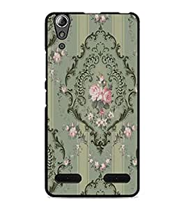 PrintDhaba Pattern D-2260 Back Case Cover for LENOVO A6000 (Multi-Coloured)