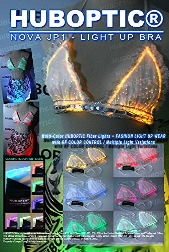 Light Up Bra - Sexy Top LED Bra / DJ Glow Bra Glow Lingerie Luminous Bikini Strip Dancer Bra Belly Gogo Sexy LED Bra
