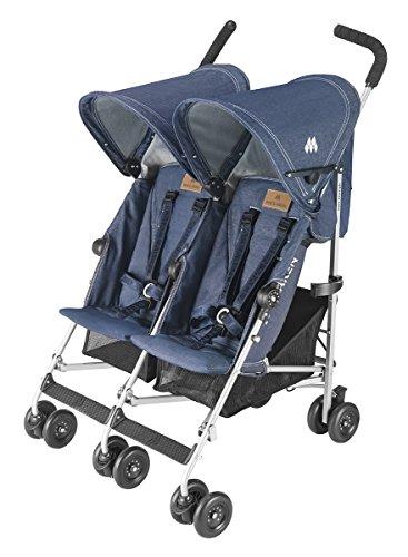 Maclaren twin triumph denim indigo 6 months baby - Silla maclaren amazon ...